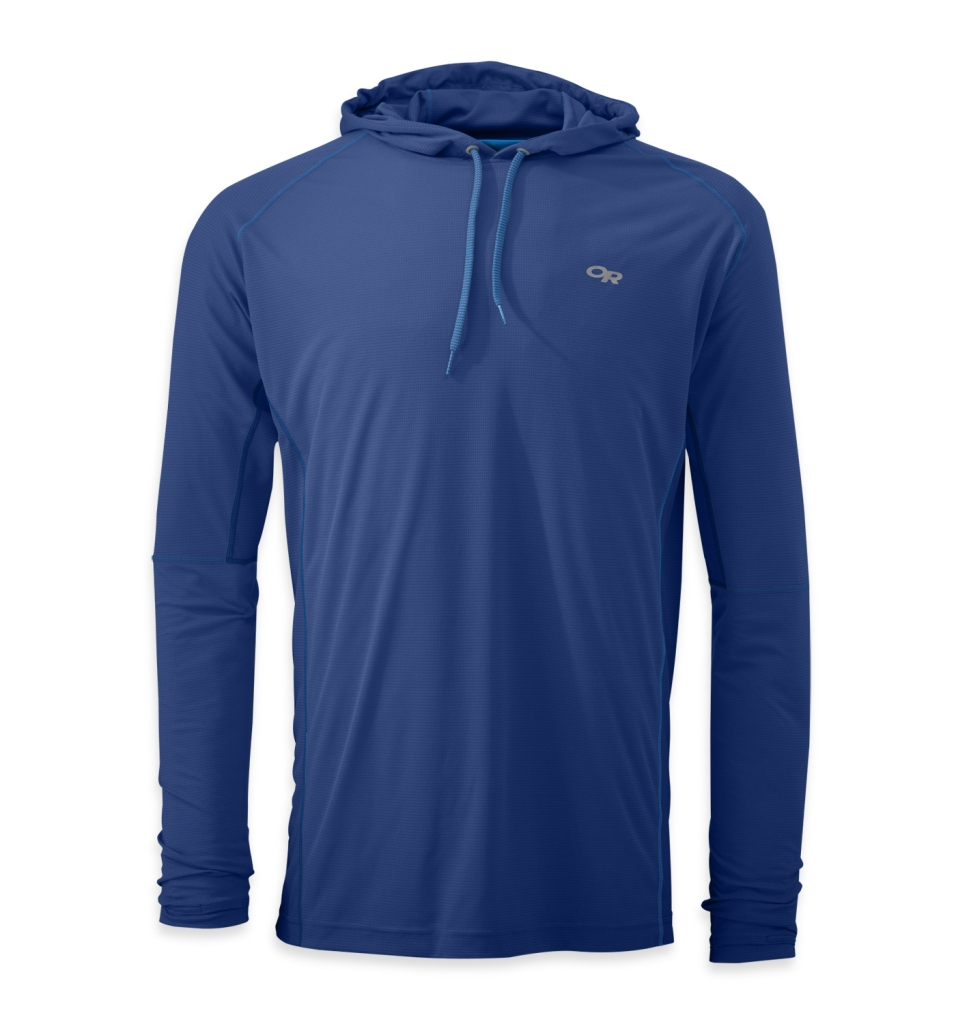Outdoor Research Men's Echo Hoody baltic/glacier-30