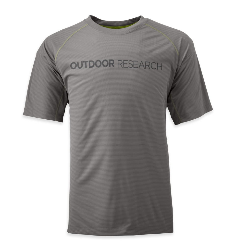 Outdoor Research Men's Echo Graphic Tee pewter/charcoal-30