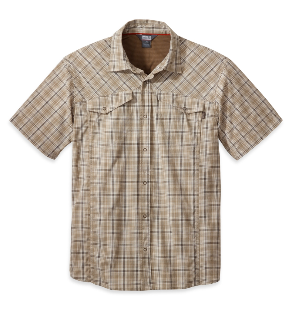 Outdoor Research Men's Pagosa S/S Shirt cafe-30
