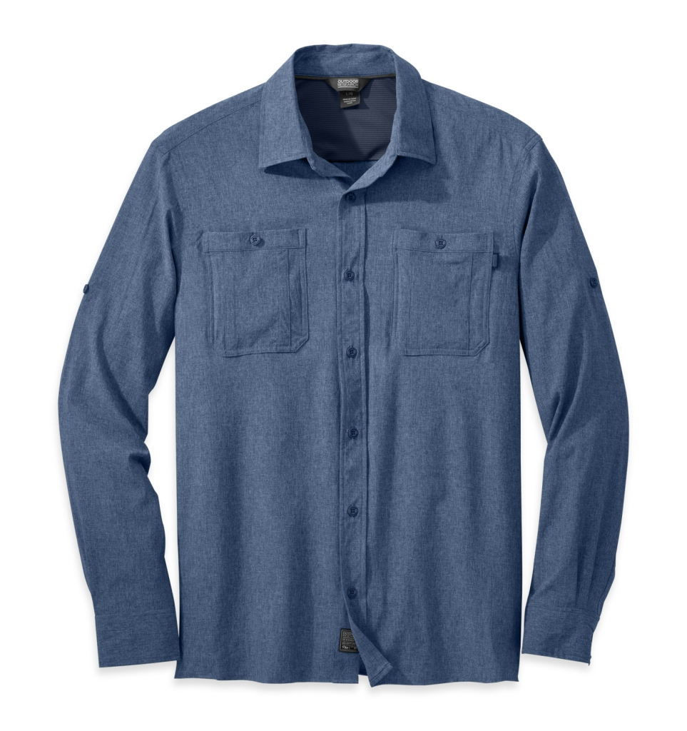 Outdoor Research Men's Wayward Sentinel L/S Shirt dusk-30