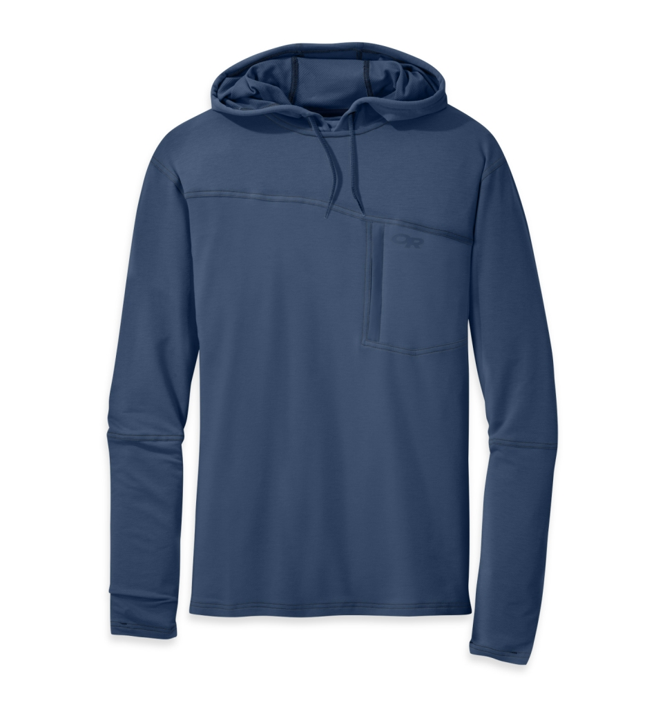 Outdoor Research Men's Ensenada Sun Hoody dusk-30