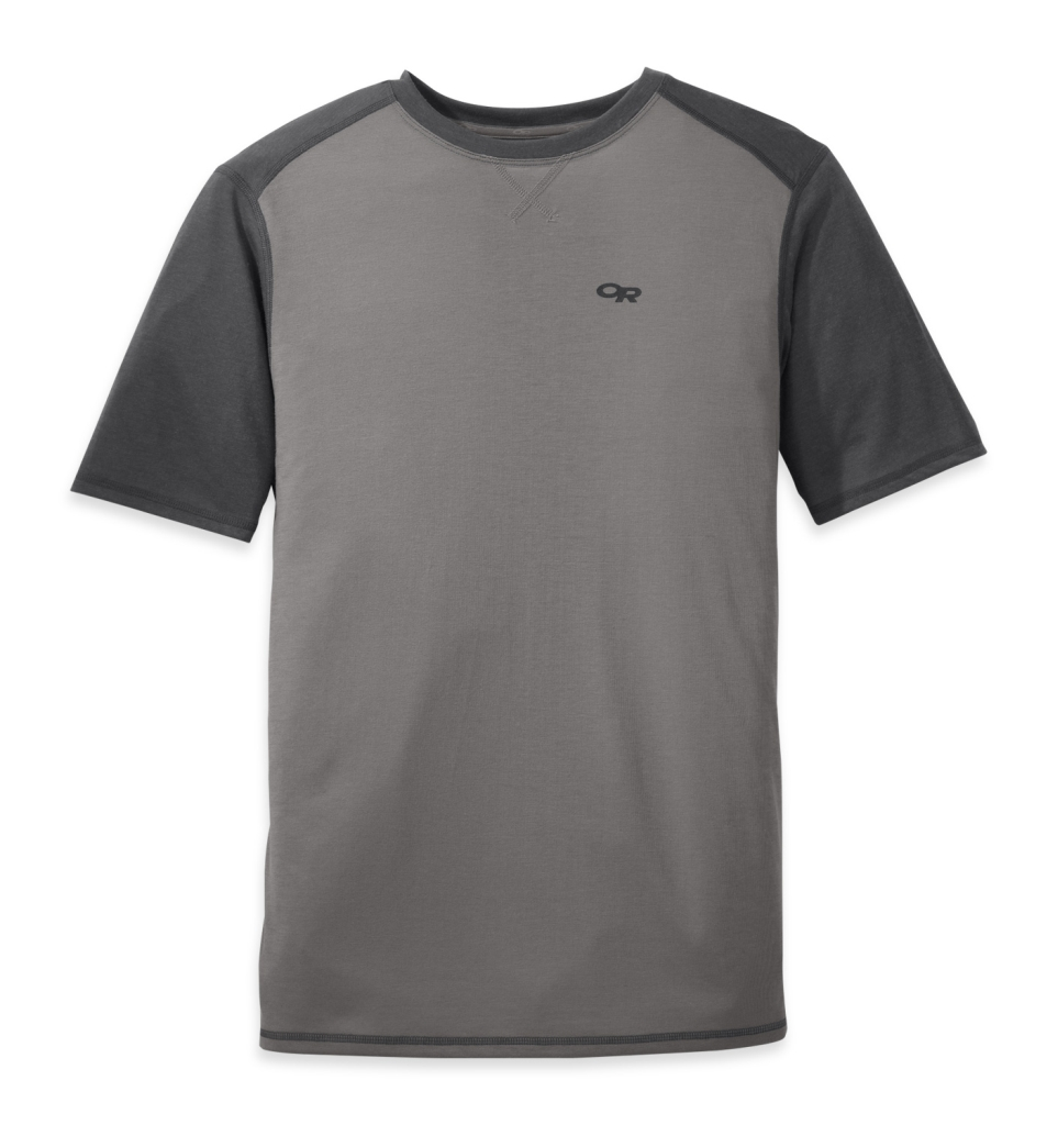 Outdoor Research Men's Sequence Duo Tee pewter/charcoal-30