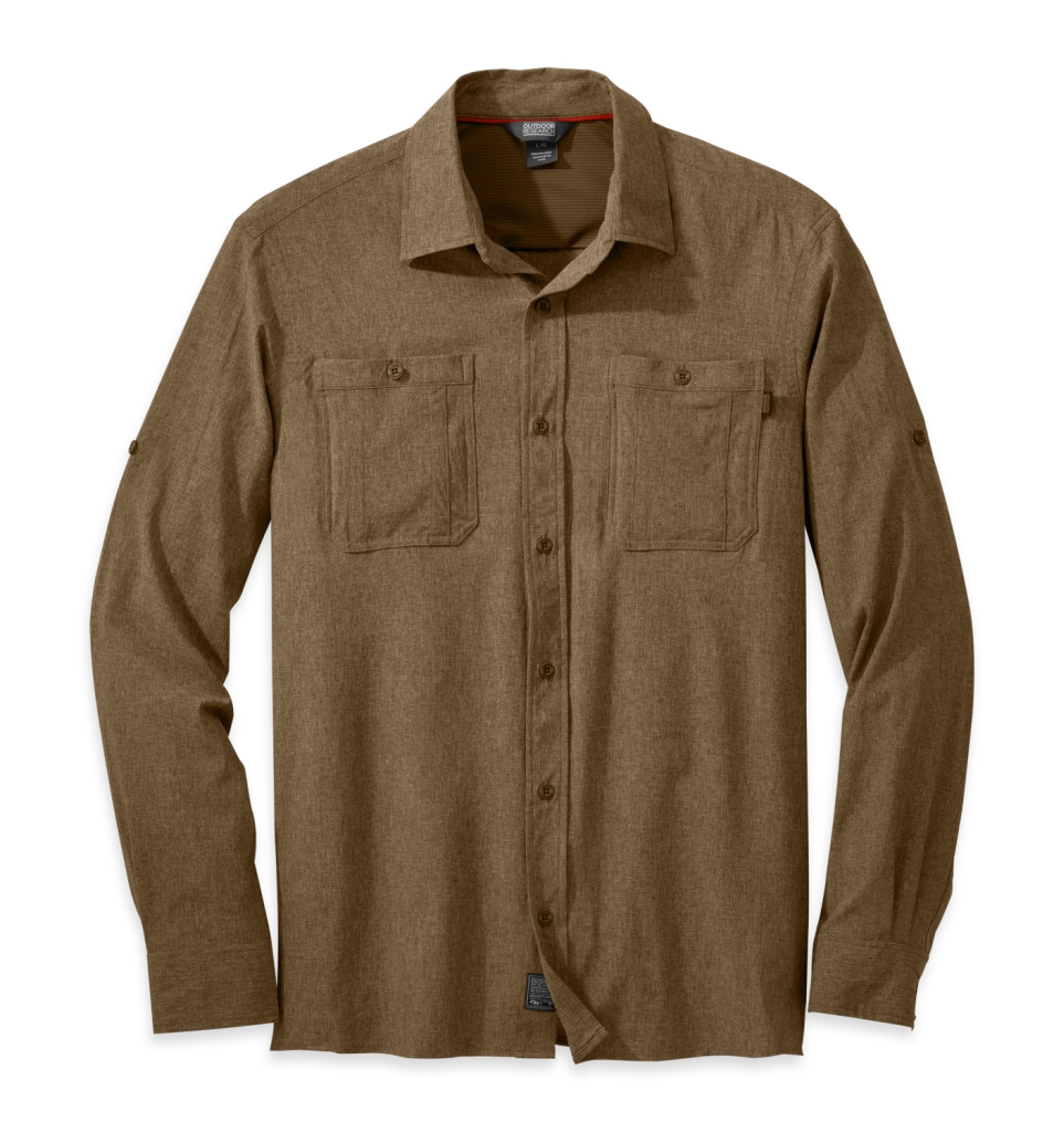 Outdoor Research Men's Wayward L/S Shirt coyote-30