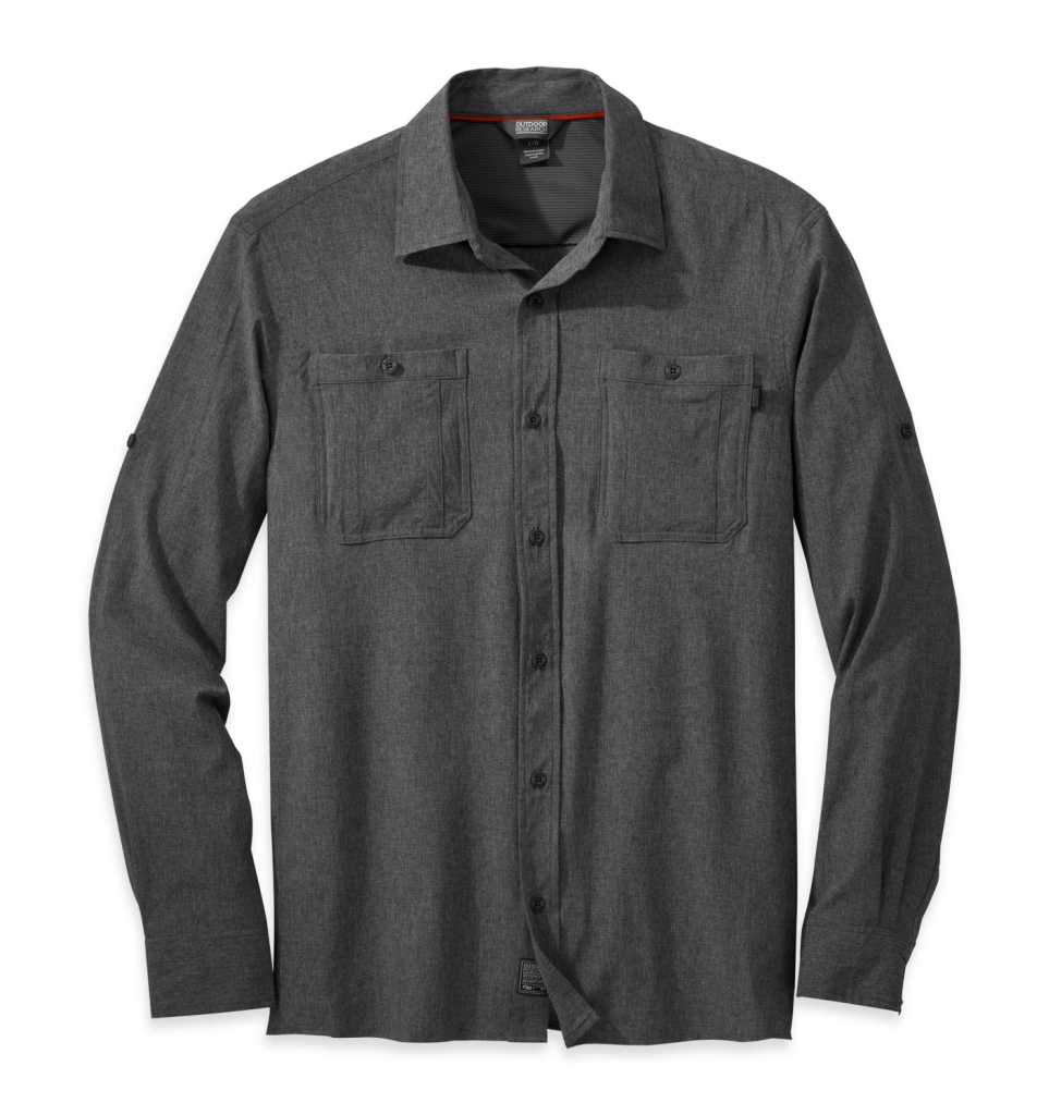 Outdoor Research Men's Wayward L/S Shirt charcoal-30