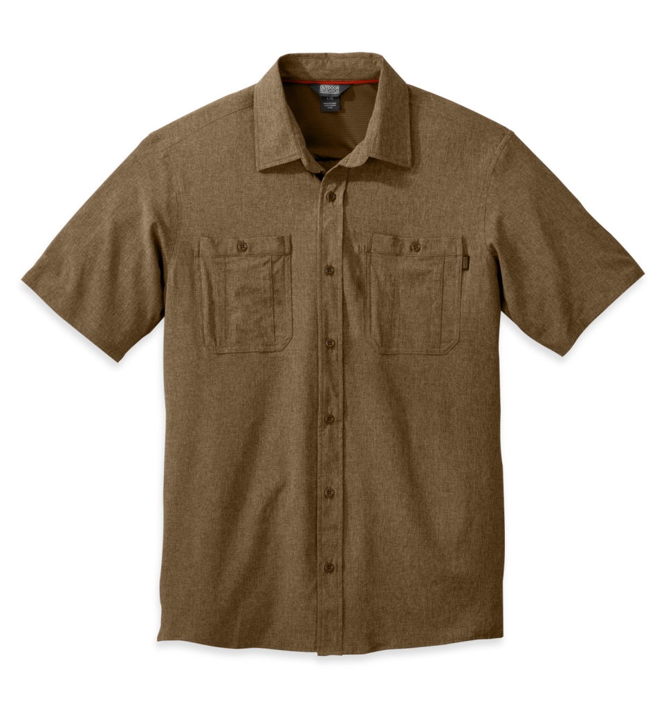 Outdoor Research Men's Wayward S/S Shirt coyote-30