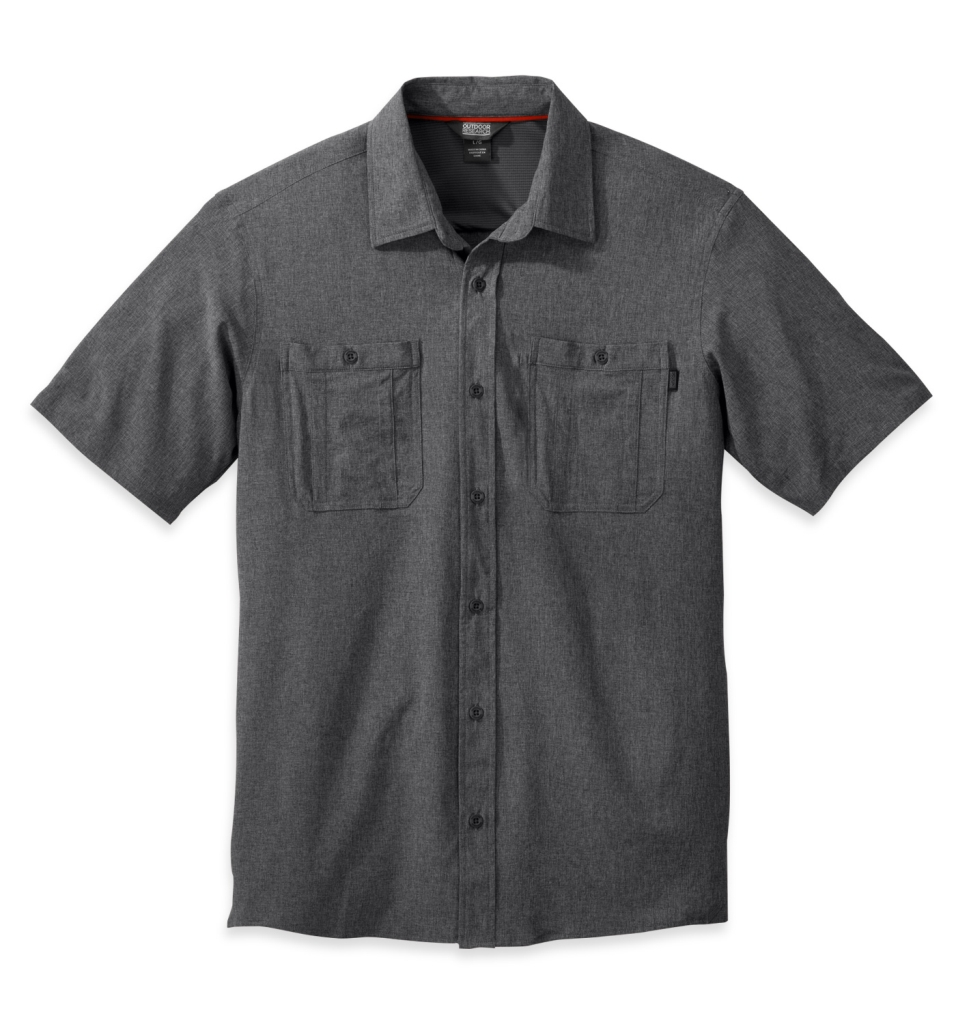 Outdoor Research Men's Wayward S/S Shirt charcoal-30