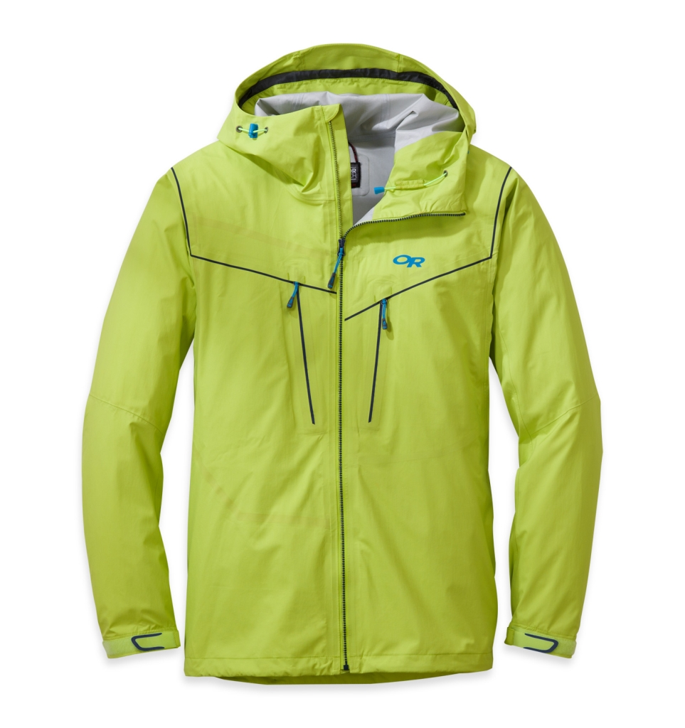 Outdoor Research Men's Precipice Jacket lemongrass-30