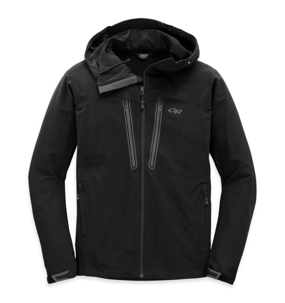 Outdoor Research Men's Ferrosi Summit Hooded Jacket black-30
