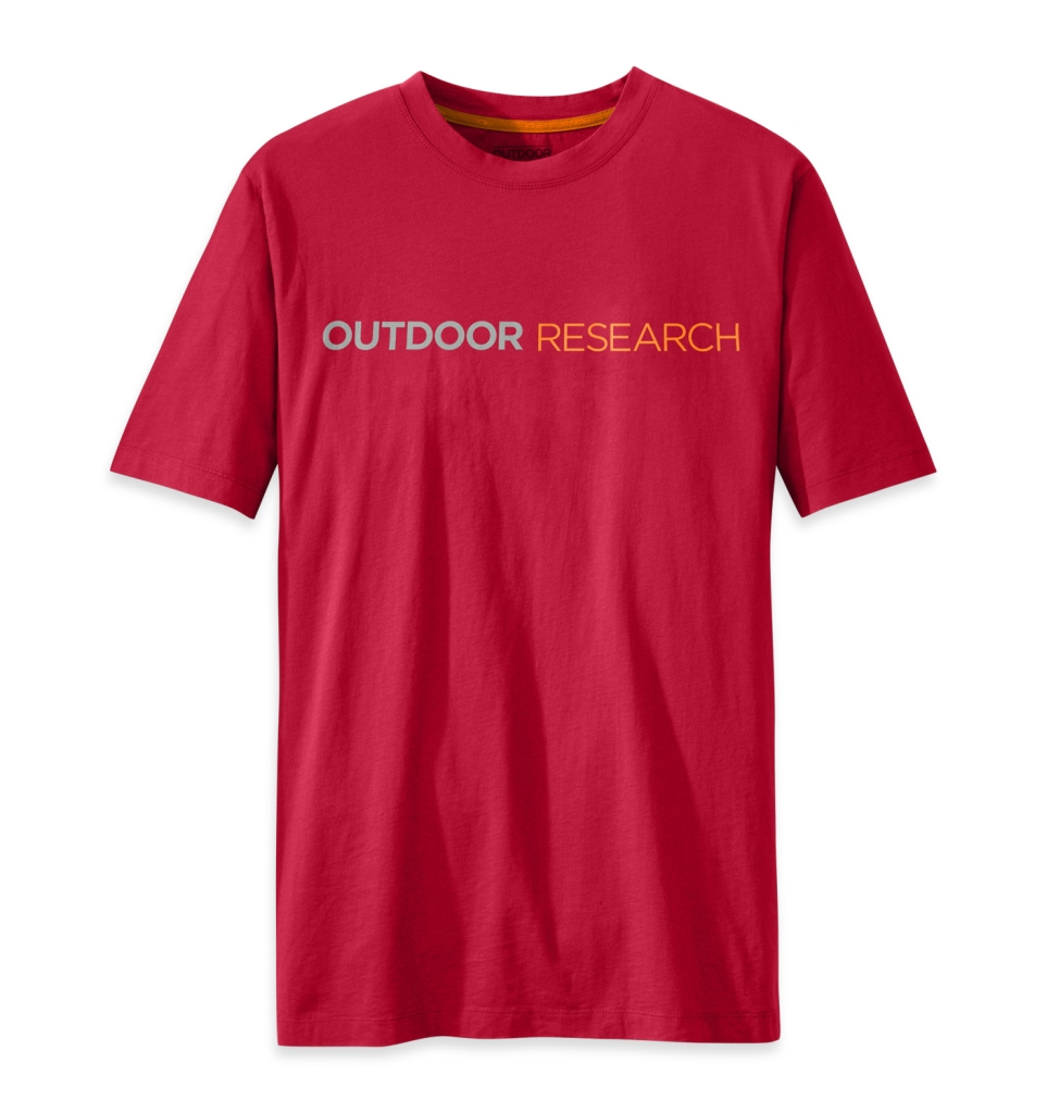 Outdoor Research Men's Linear Tee agate-30