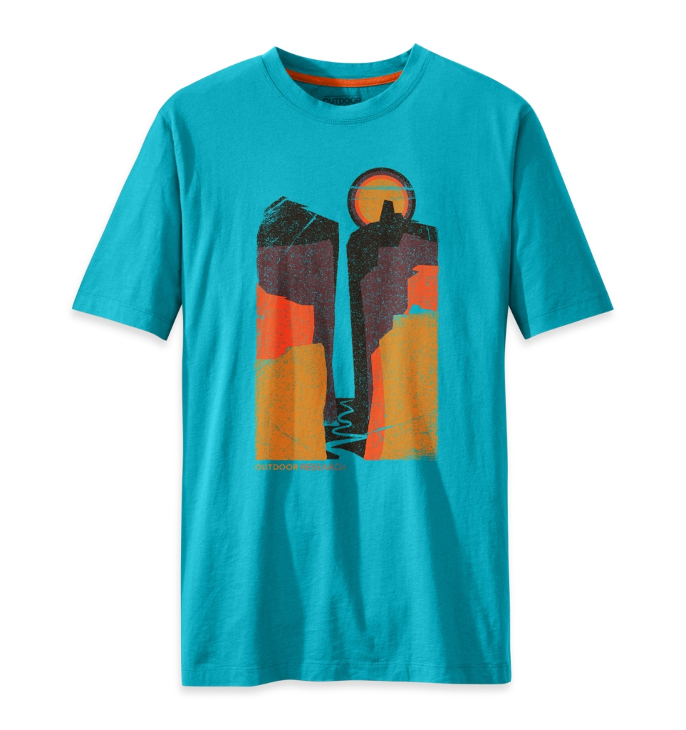 Outdoor Research Men's Canyonlands Tee typhoon-30