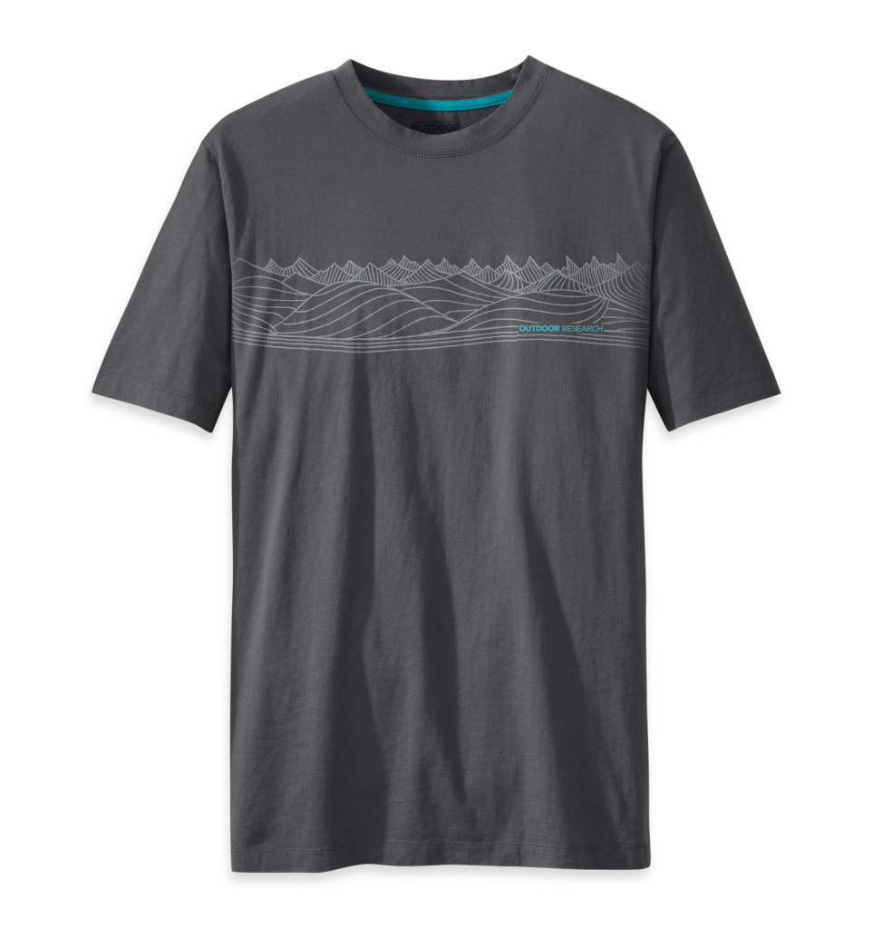 Outdoor Research Men's Prospect Tee charcoal heather-30