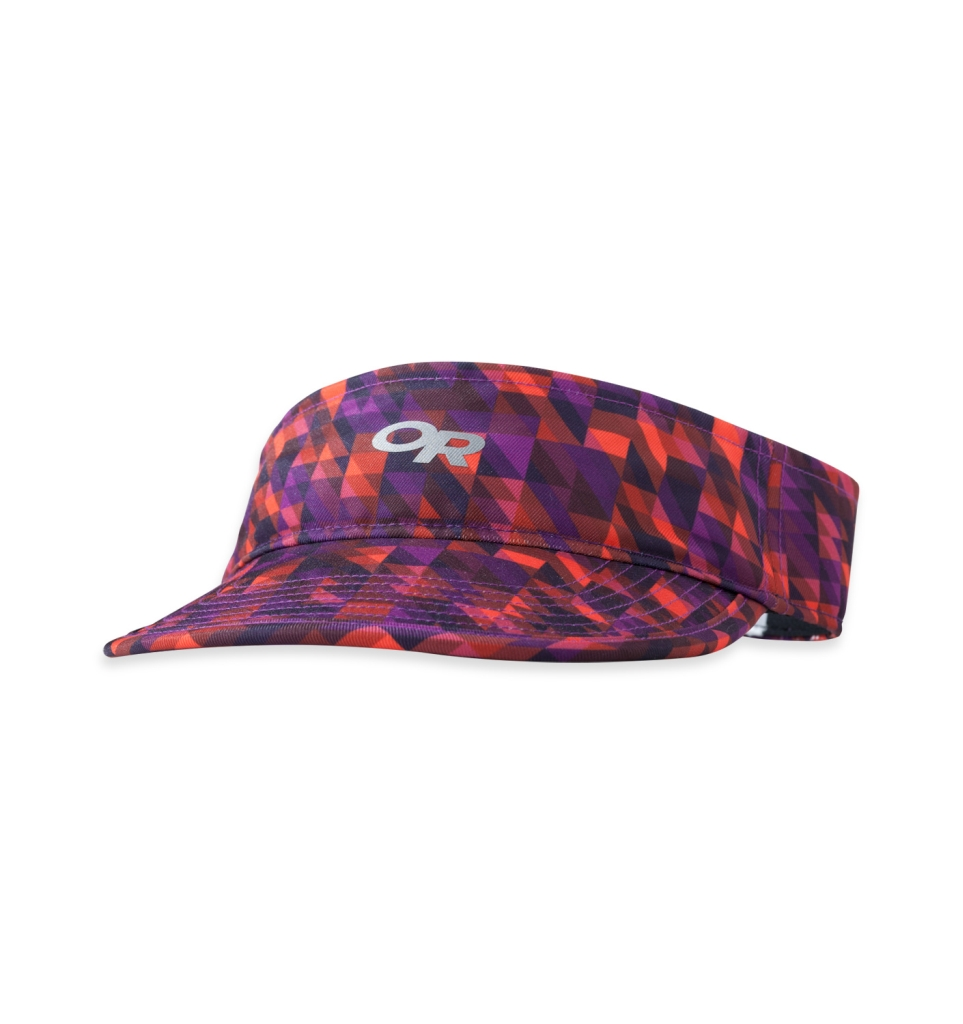 Outdoor Research Women's Fortuna Visor ultraviolet/flame-30