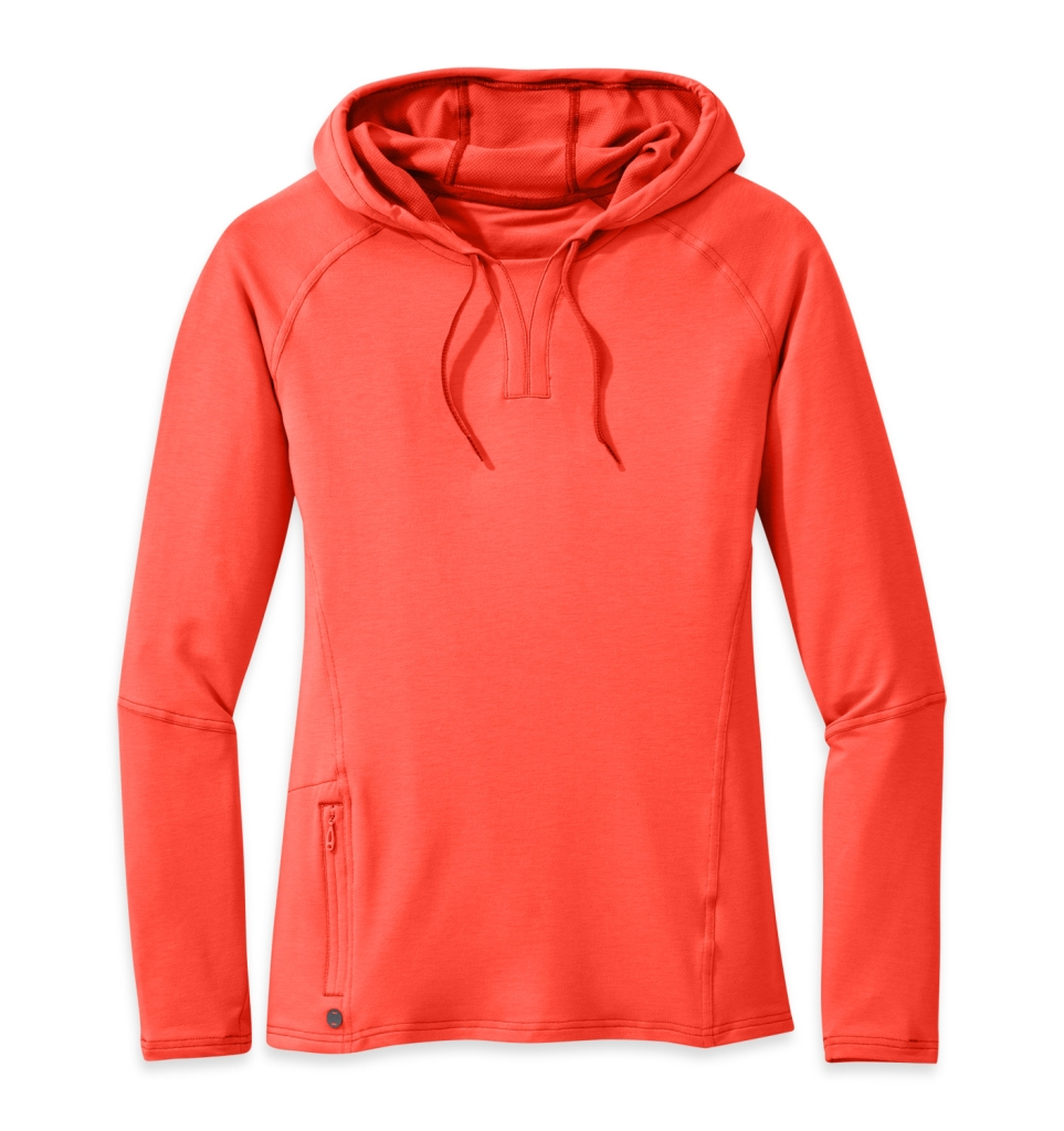 Outdoor Research Women's Ensenada Sun Hoody paprika-30