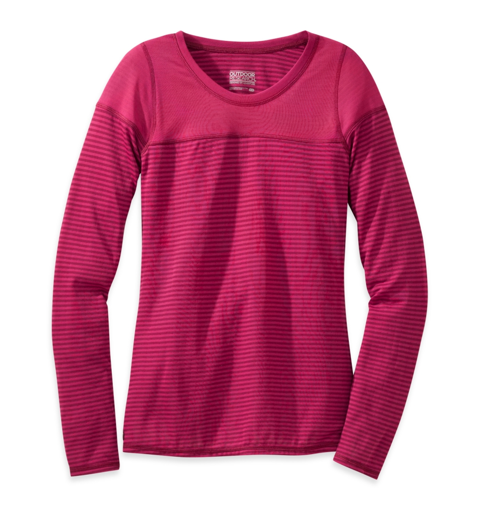 Outdoor Research Women's Umbra Crew sangria-30
