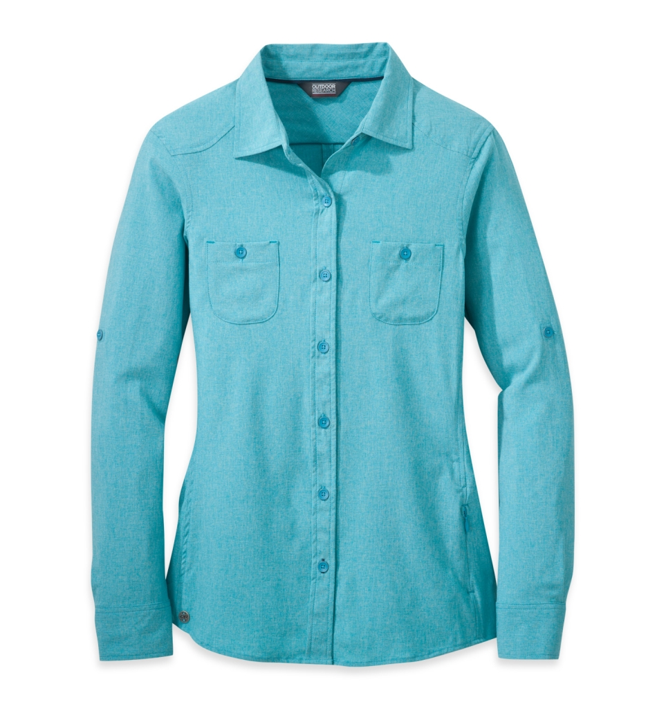 Outdoor Research Women's Reflection L/S Shirt typhoon-30