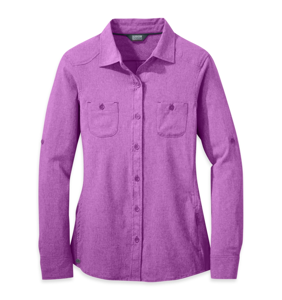 Outdoor Research Women's Reflection L/S Shirt wisteria-30
