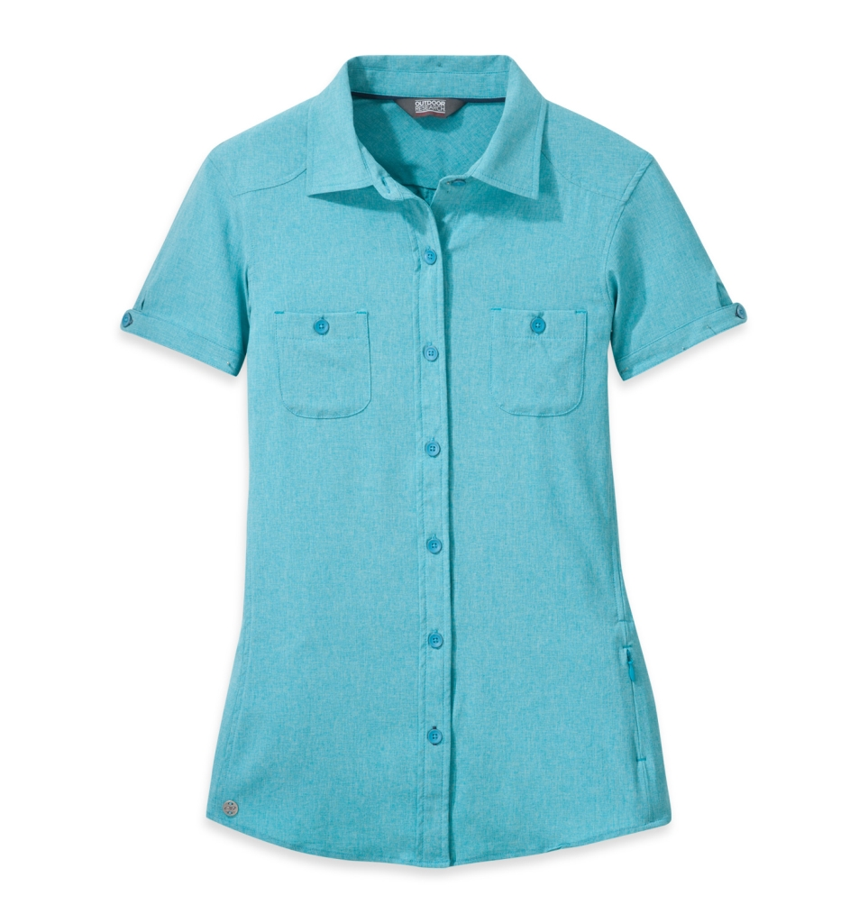 Outdoor Research Women's Reflection S/S Shirt typhoon-30