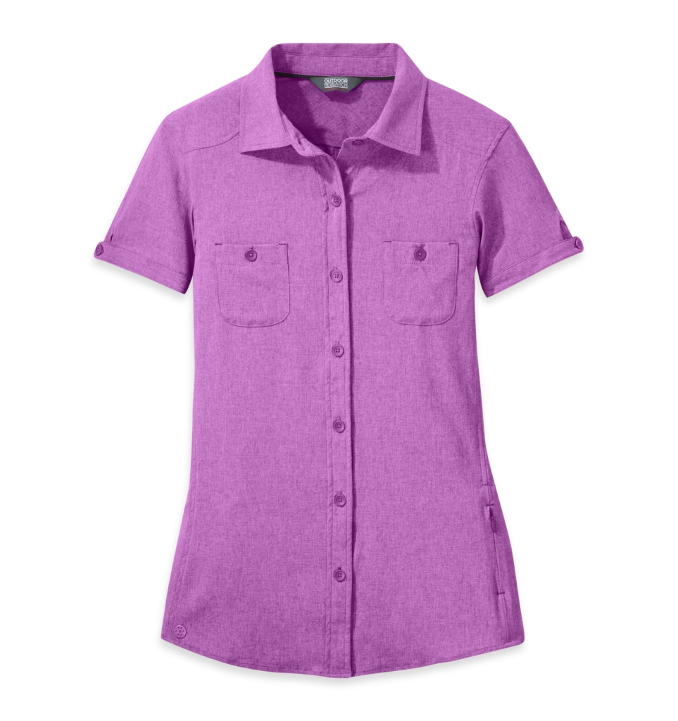 Outdoor Research Women's Reflection S/S Shirt wisteria-30