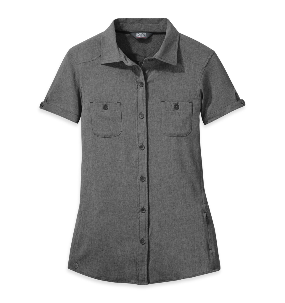 Outdoor Research Women's Reflection S/S Shirt charcoal-30