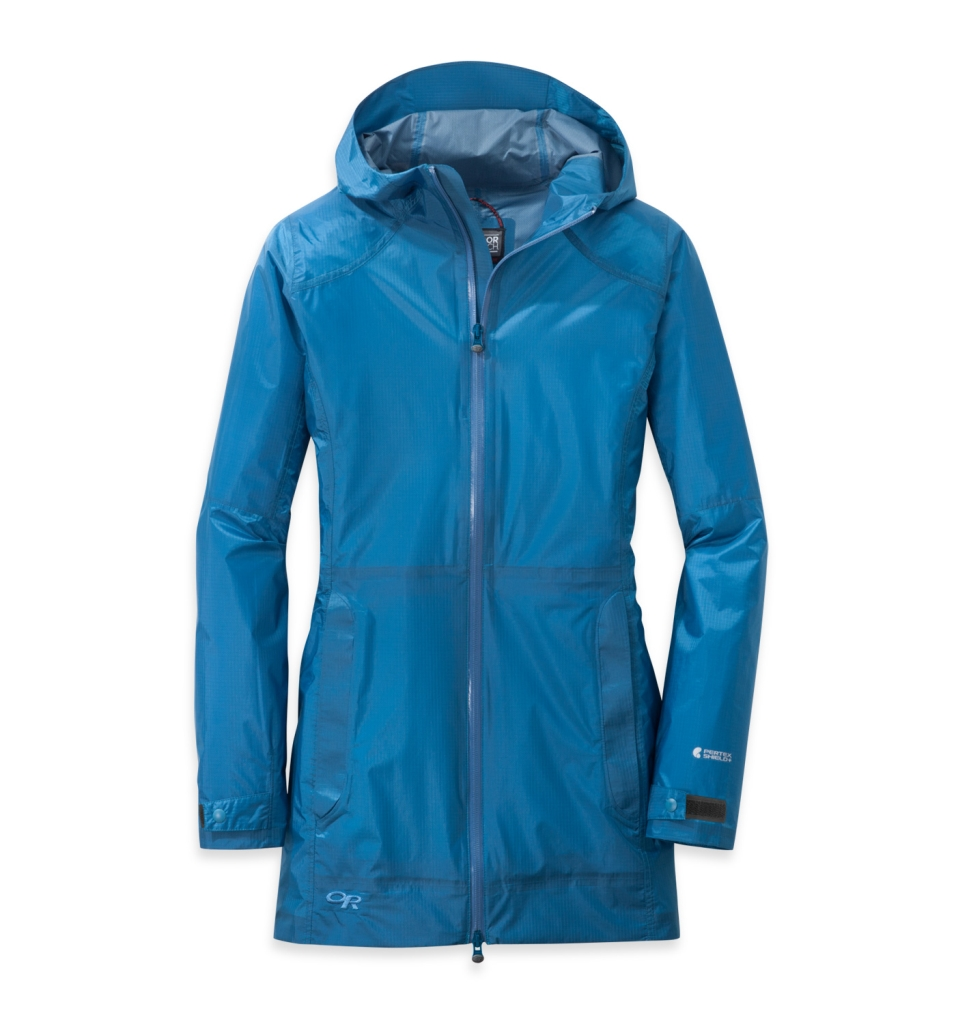 Outdoor Research Women's Helium Traveler Jacket S cornflower-30