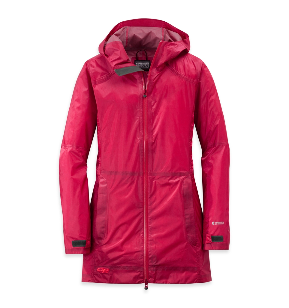 Outdoor Research Women's Helium Traveler Jacket scarlet-30