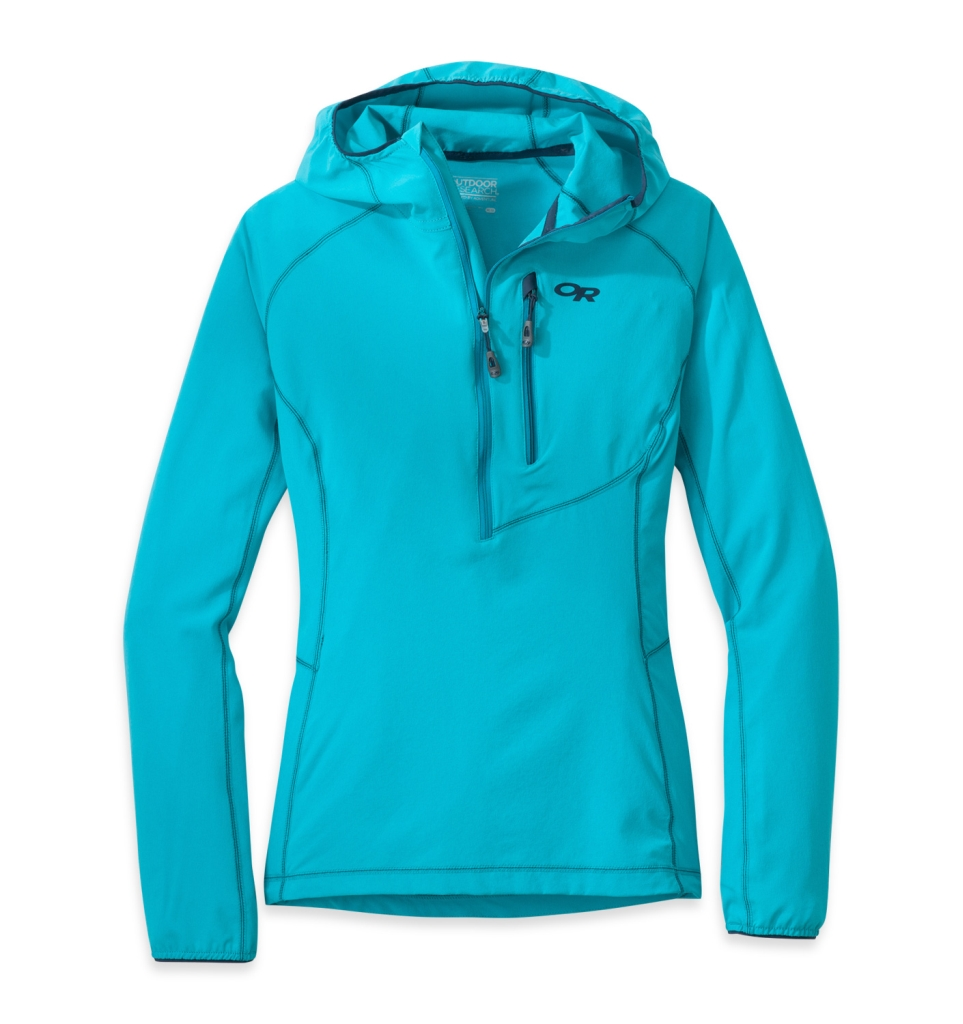 Outdoor Research Women's Whirlwind Hoody Jacket typhoon-30