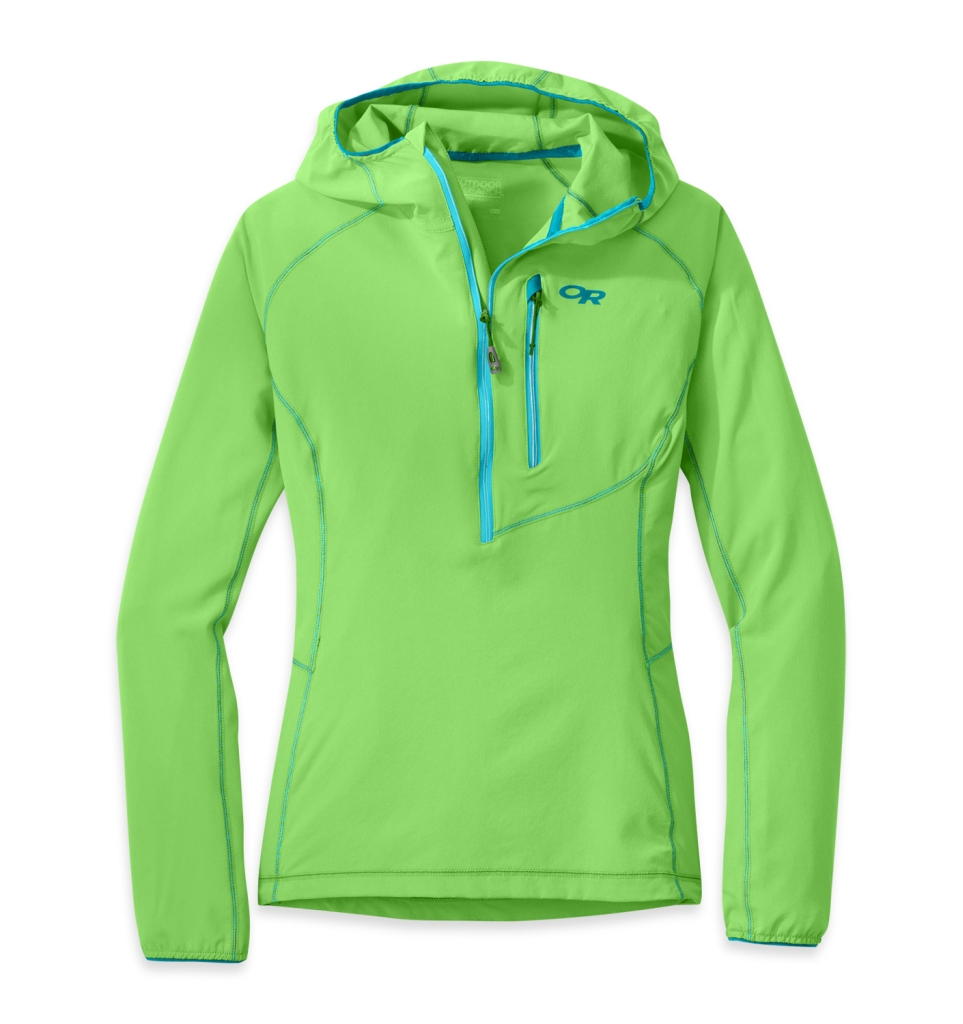 Outdoor Research Women's Whirlwind Hoody Jacket apple-30