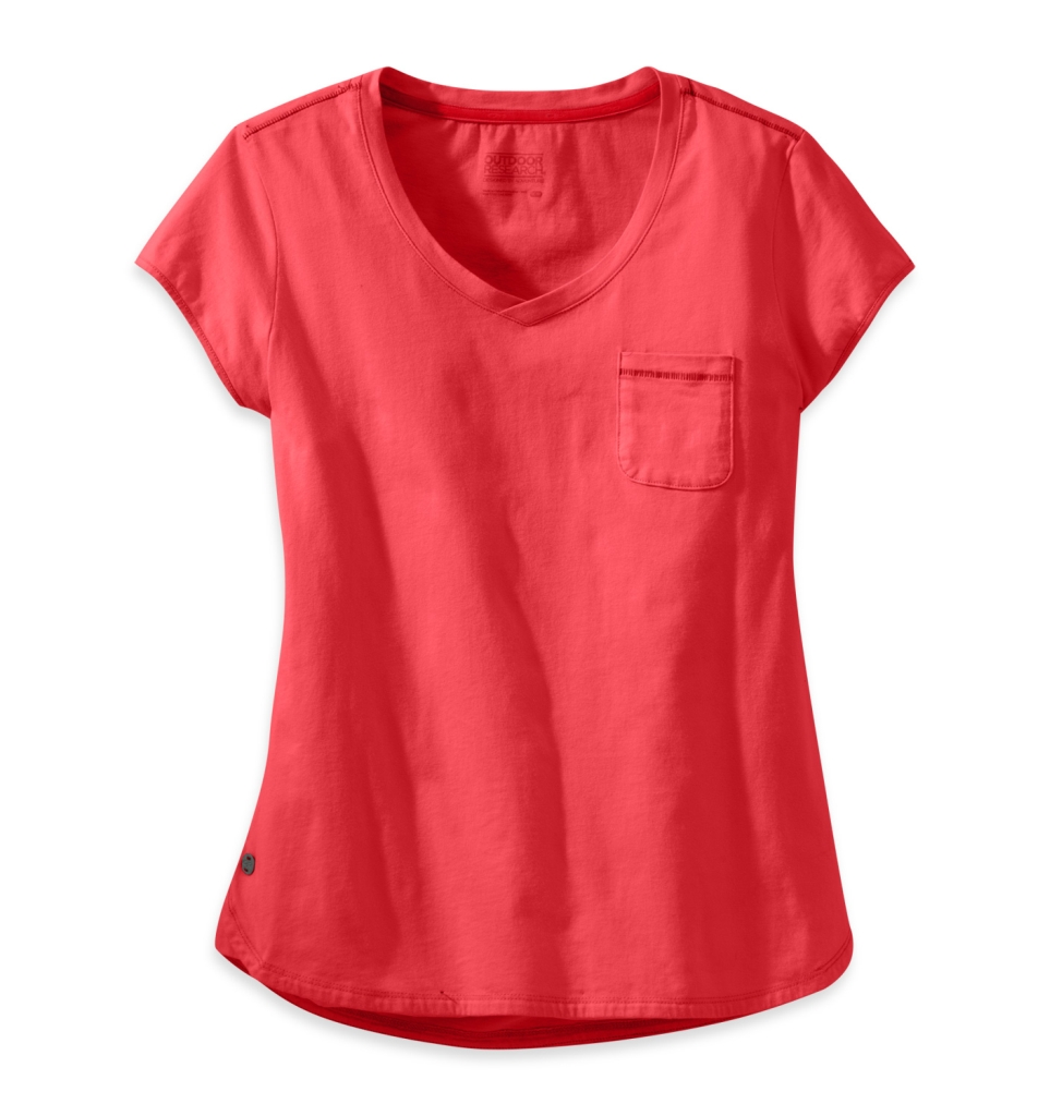 Outdoor Research Women's Annalise Tee flame-30