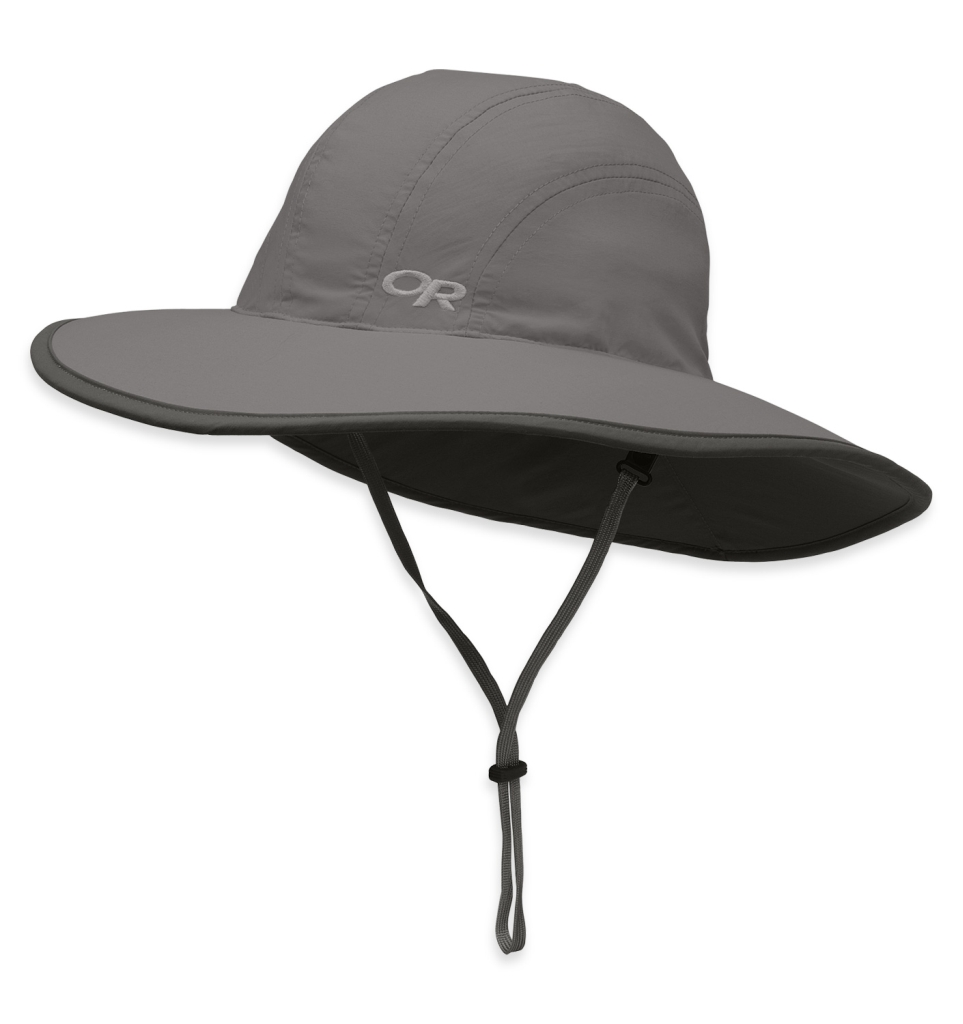 Outdoor Research Kids' Rambler Sun Sombrero pewter-30