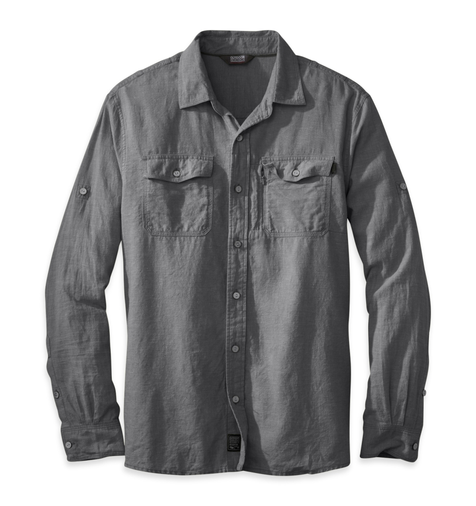 Outdoor Research Men's Harrelson L/S Shirt charcoal-30
