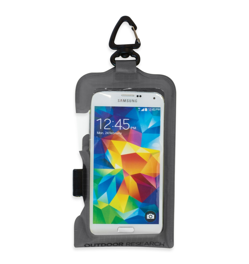 Outdoor Research SensDry Pocket PRM Smartph. Large charcoal-30