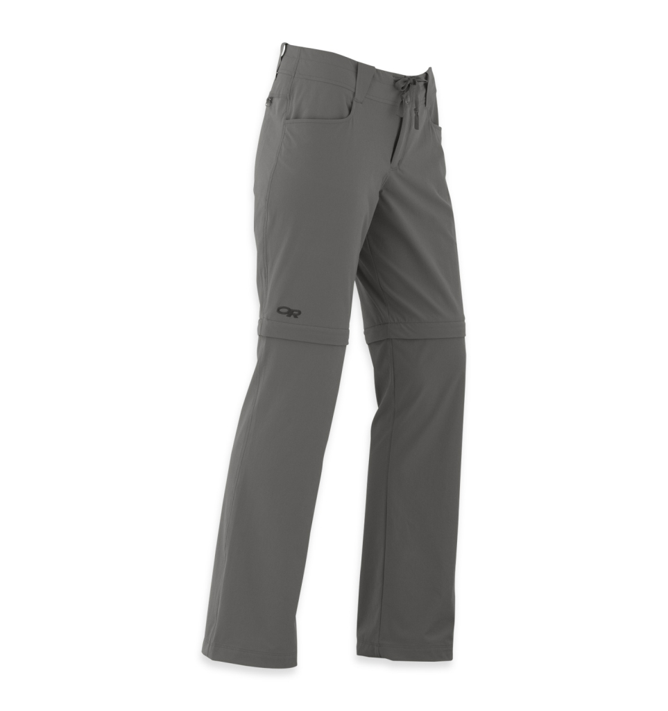 Outdoor Research Women's Ferrosi Convertible Pants pewter-30