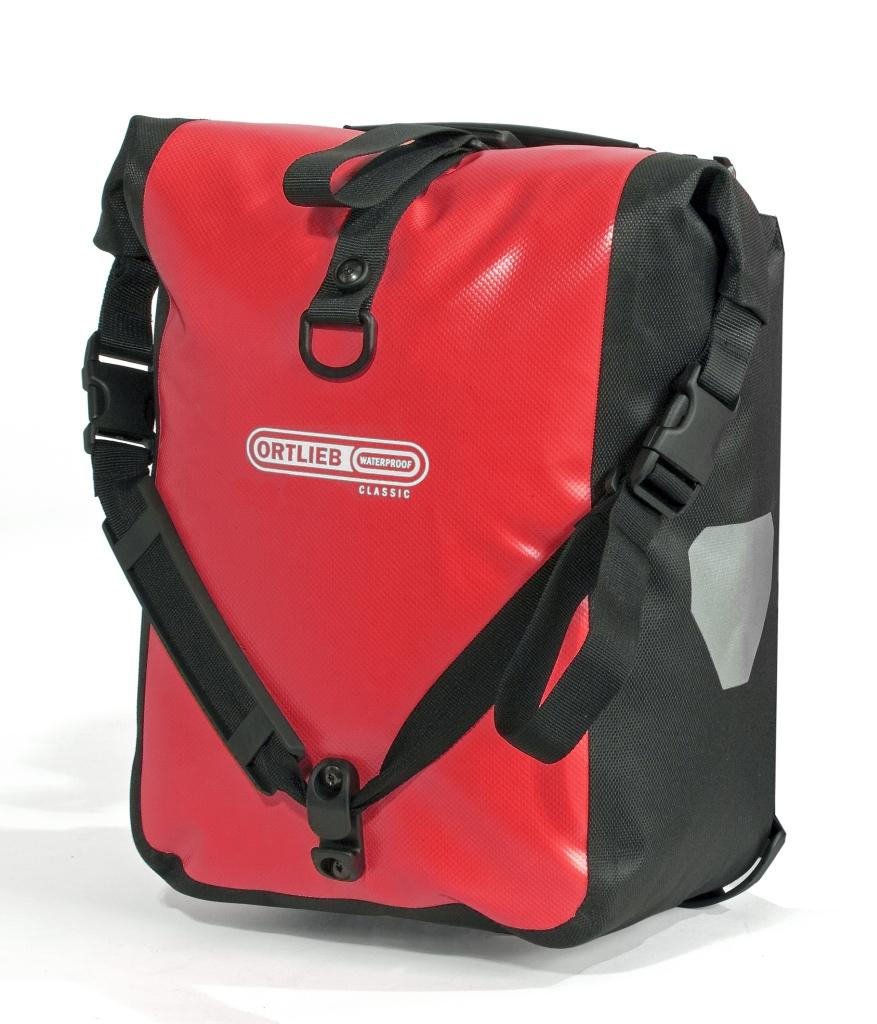 Ortlieb Front-Roller Classic Paar rot schwarz-30
