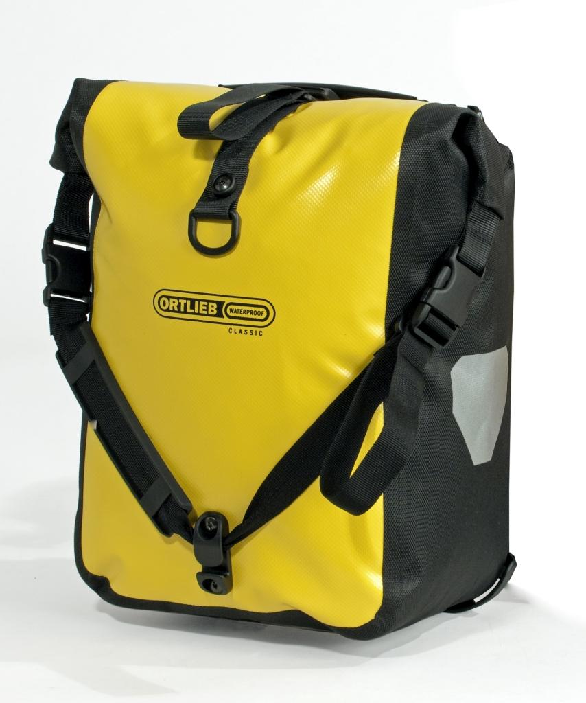 Ortlieb Front-Roller Classic Paar gelb schwarz-30