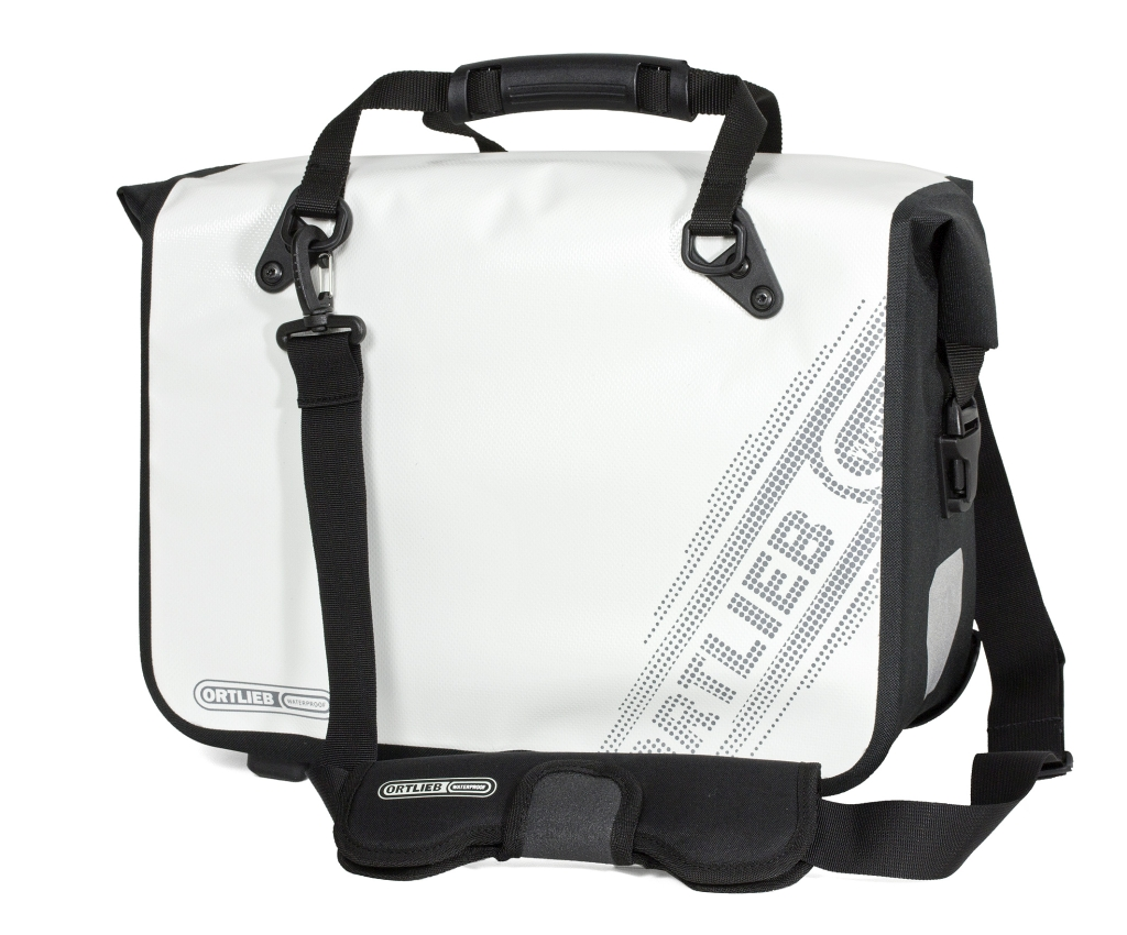 Ortlieb Office-Bag Black'N White QL2.1 weiss-30