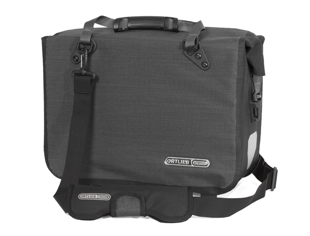 Ortlieb Office-Bag L – QL2 granit schwarz-30