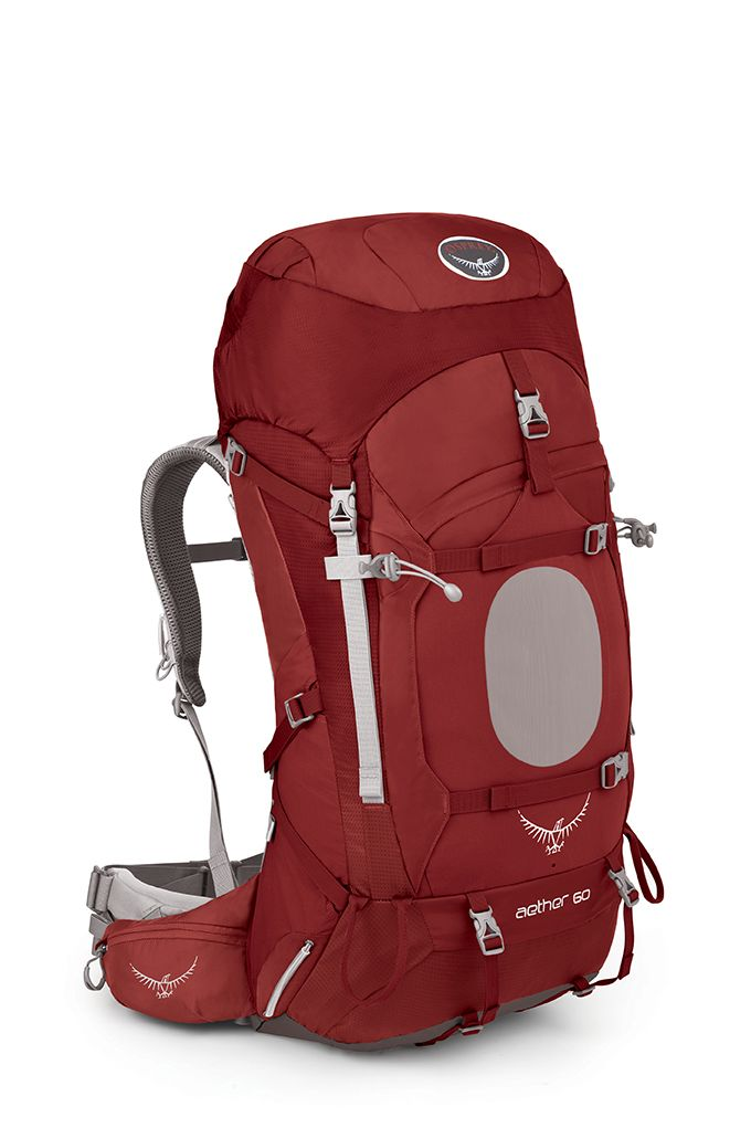 Osprey Aether 60 Arroyo Red-30
