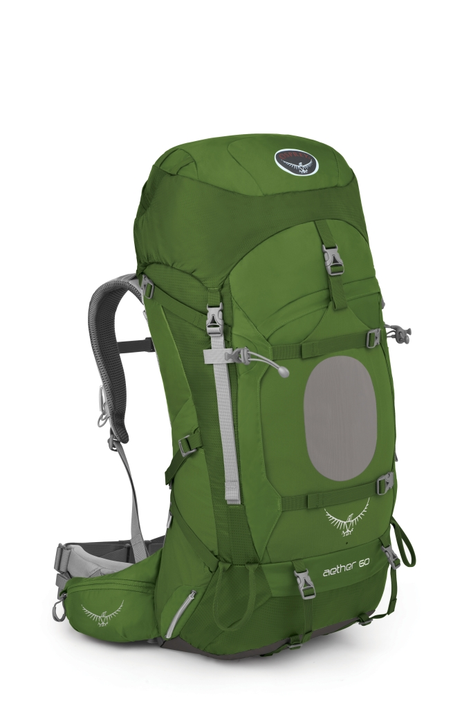Osprey Aether 60 Bonsai Green-30