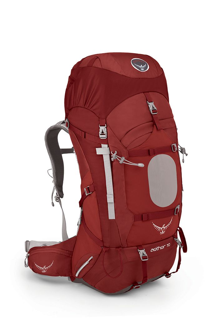 Osprey Aether 70 Arroyo Red-30