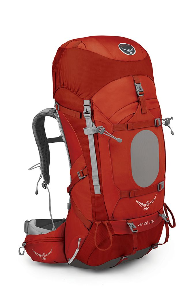 Osprey Ariel 55 Vermillion Red-30