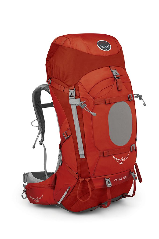 Osprey Ariel 65 Vermillion Red-30
