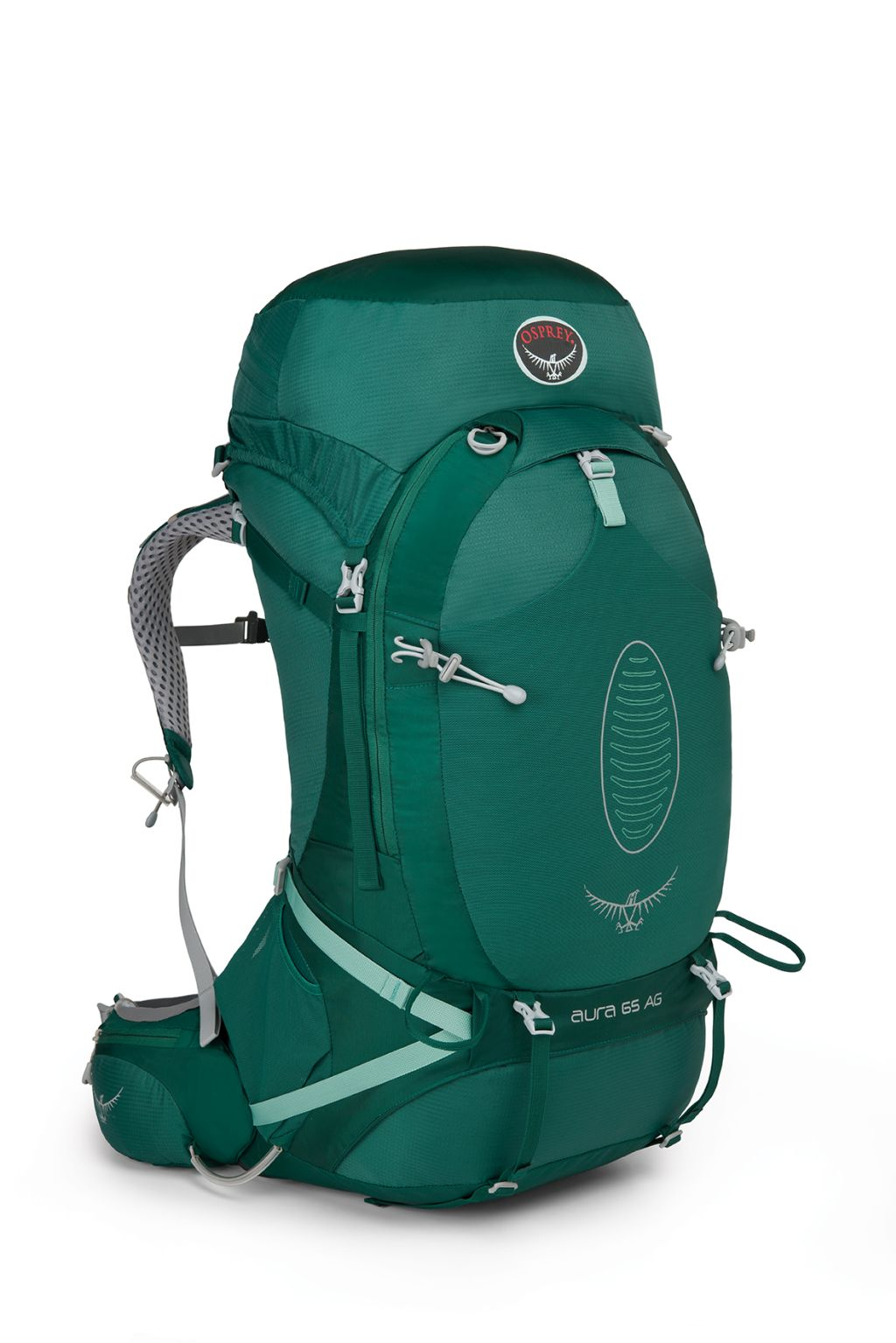 Osprey Aura AG 65 Rainforest Green-30
