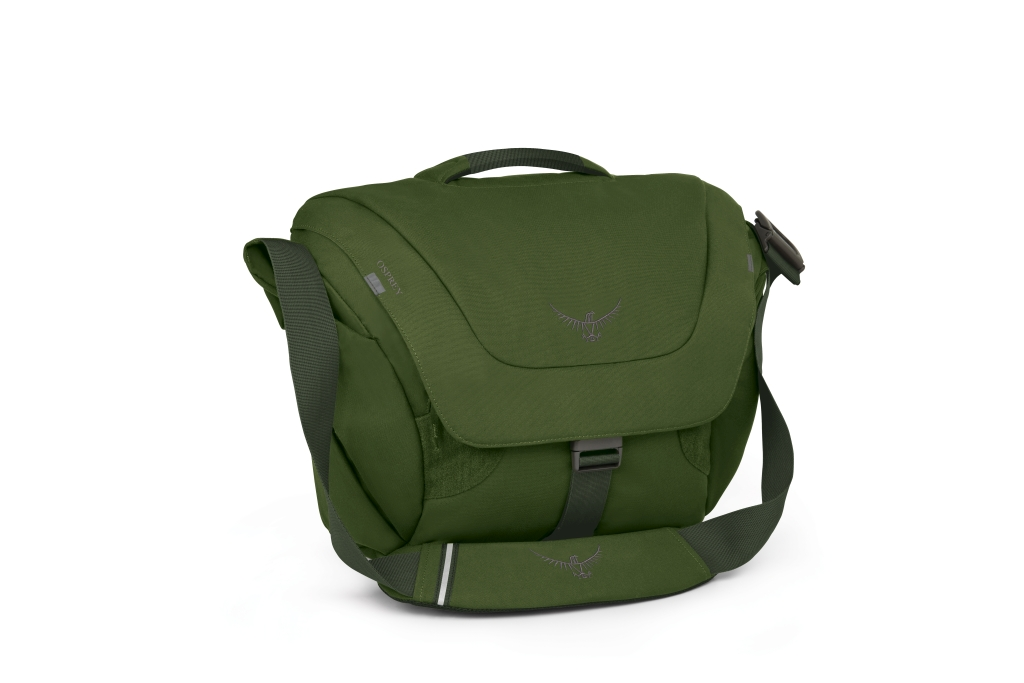 Osprey Flap Jack Courier Peat Green-30
