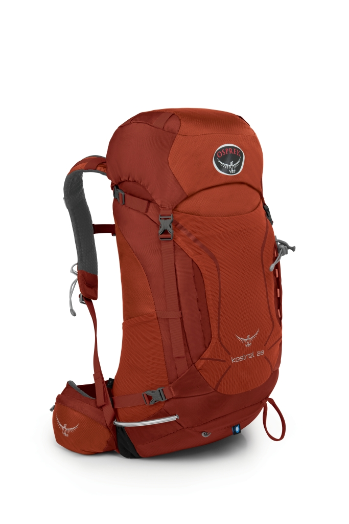 Osprey Kestrel 28 Dragon Red-30