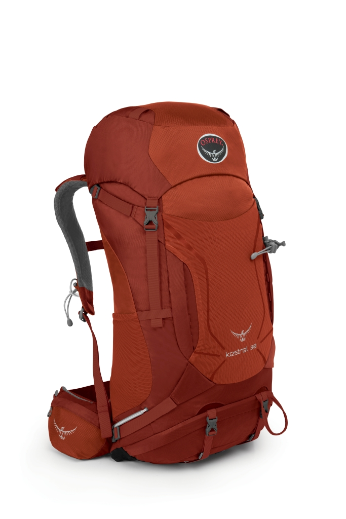 Osprey Kestrel 38 Dragon Red-30