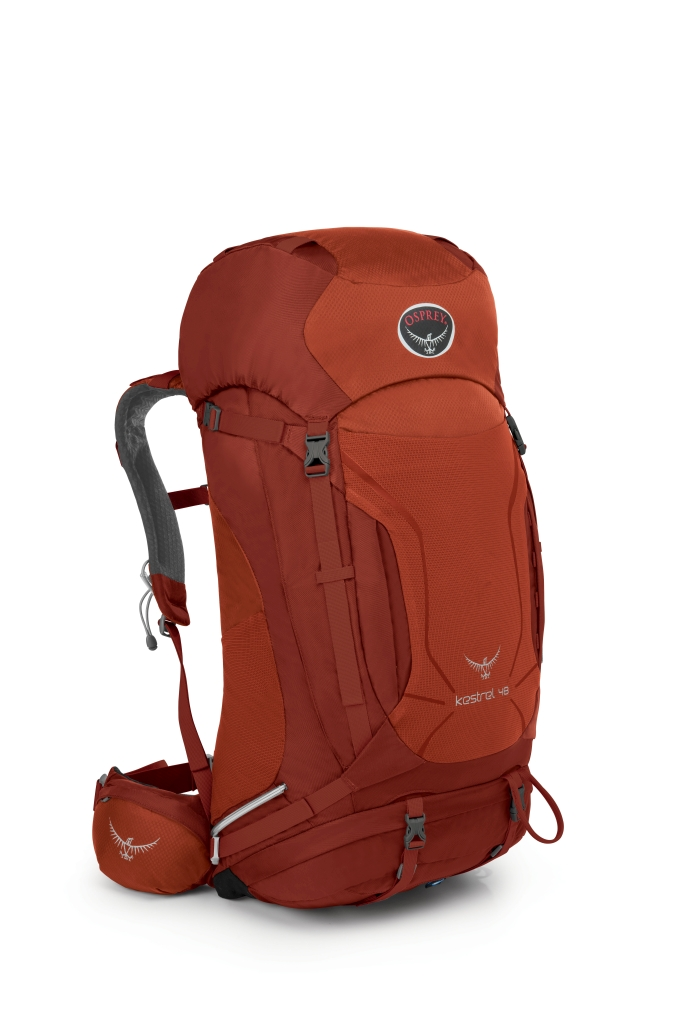 Osprey Kestrel 48 Dragon Red-30