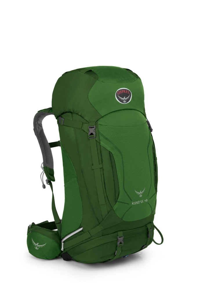 Osprey Kestrel 48 Jungle Green-30