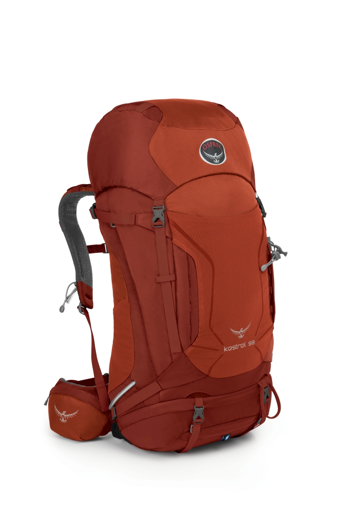 Osprey Kestrel 58 Dragon Red-30