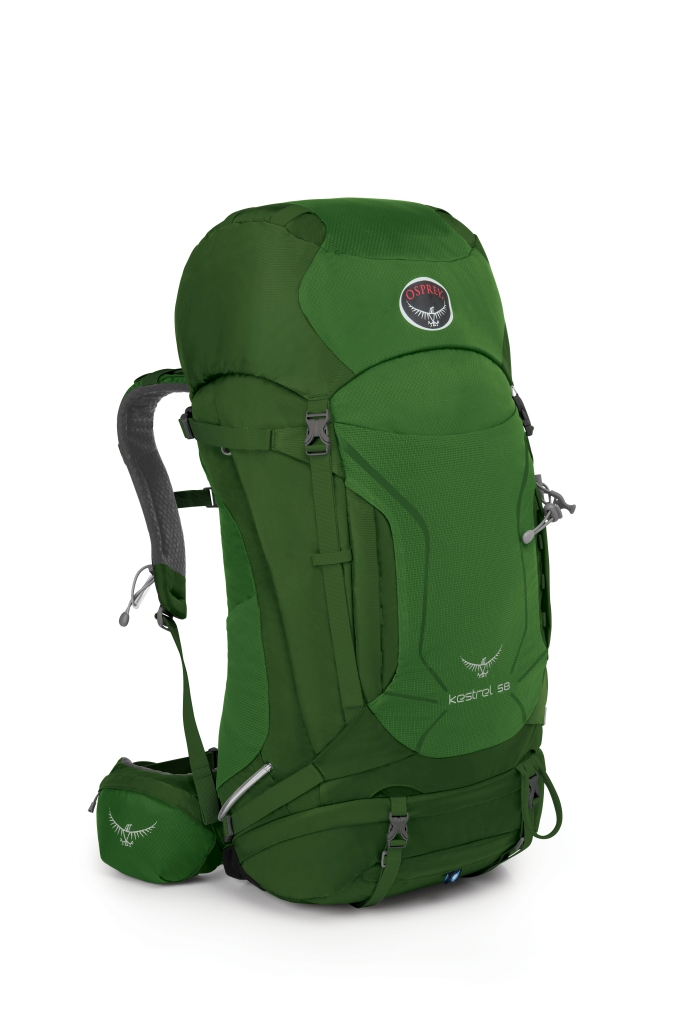 Osprey Kestrel 58 Jungle Green-30