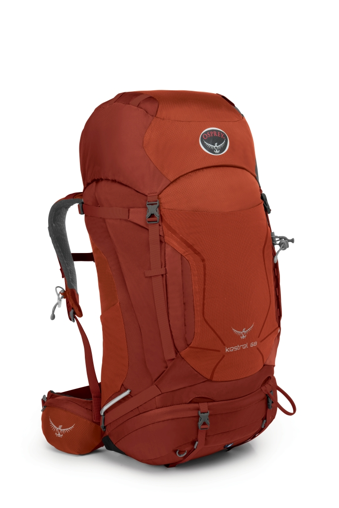 Osprey Kestrel 68 Dragon Red-30
